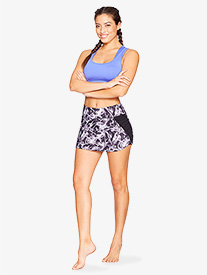 Womens Gathered Fitness Skirt