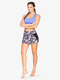 Womens Gathered Fitness Skirt