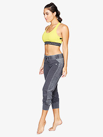 Womens Drawstring Workout Pants