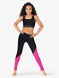 Adult Color Block Leggings