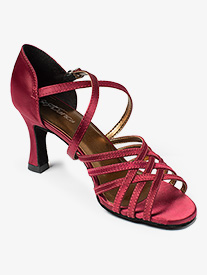 Womens Rachel 2.5 Strappy Ballroom Shoes
