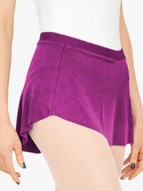 Girls Short Pull-On Ballet Skirt
