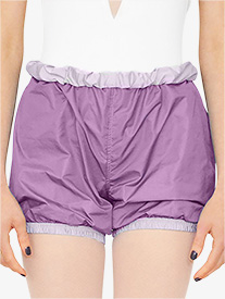 Womens Reversible Warm Up Shorts