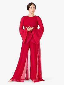 Womens Long Sleeve Worship Jumpsuit