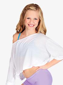 Child 3/4 Sleeve Oversized Top