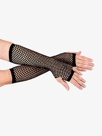 Long Fishnet Gloves