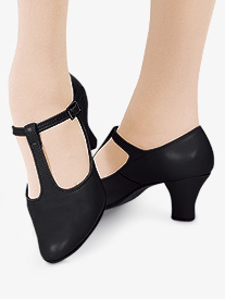 Adult T-Strap 2 Heel Character Shoes