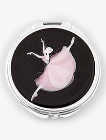 Jumping Ballerina Compact Mirror