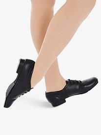 Adult Fluid Lace Up Tap Shoes