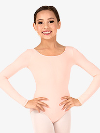 Girls Essential Long Sleeve Leotard