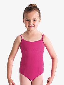 Girls Sugar Pinch Front Camisole Leotard