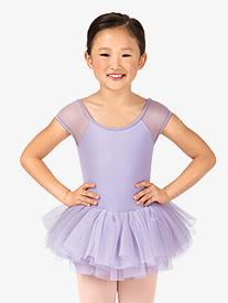 Child Saiph Short Sleeve Rhinestone Tutu Dress
