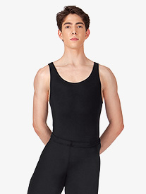 Mens Cotton Tank Leotard