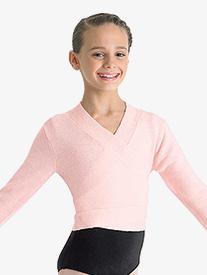 Girls Ella Long Sleeve Tie Sweater