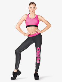 Adult Sublimated Dance Legging