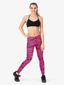 Adult Sublimated All-Over Dance Legging