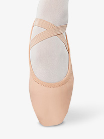 Girls Leather Split Sole Ballet Shoes