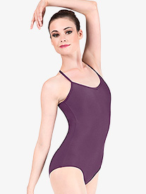 Adult Adjustable Strap Camisole Dance Leotard