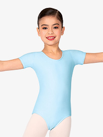 Child Short Sleeve Dance Leotard