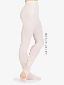 Adult Faux Backseam Convertible Tights