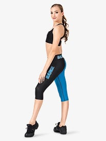 Adult Sublimated Dance Dance Capri Pant