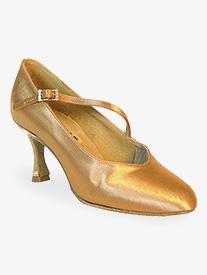 Womens Rockslide Diagonal Strap Satin Ballroom Dance Shoes