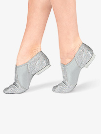 Girls Glitter Jazz Shoes