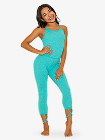 Womens The Diva Suit Camisole Dance Unitard