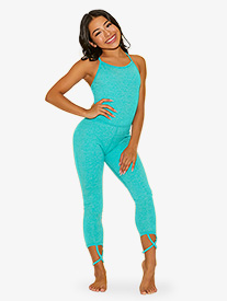Girls The Diva Suit Camisole Dance Unitard