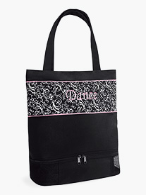 Damask Pattern Dance Tote Bag