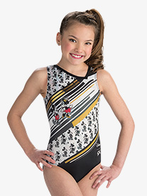 Girls Disney Mickey Mouse & Minnie Mouse Leotard