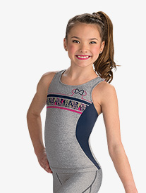 Girls Disney Minnie Mouse Sport Long Tank