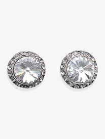 10mm Celestial Button Clip-On Earrings