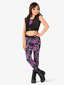 Girls Electric Funk 3-Piece Hip Hop Set
