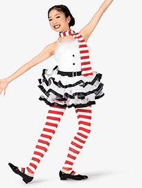 Womens Frosty Three-Tone Character Dance Costume Set