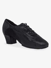 Unisex Diva Sequin Suede Closed Toe Ballroom Dance Shoes