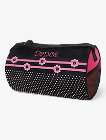 Flowers n Dots Dance Duffle Bag