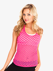 Adult/Child Fishnet Racerback Tank Top
