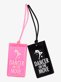 Dancer on the Move Luggage Tag