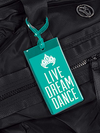 Live Dream Dance Luggage Tag
