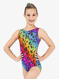 Child Cosmos Tank Leotard