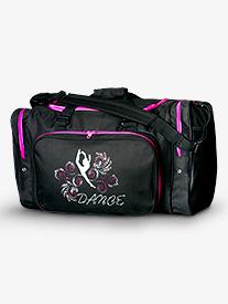 Rhinestone Dance Duffle Bag