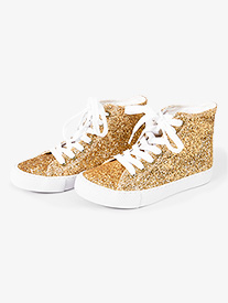 Adult Glitter High Top Sneaker