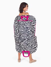 Zebra Print Garment Bag