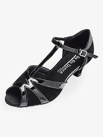Womens 1.3 Heel T-Strap Ballroom Dance Shoes