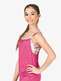 Girls Quincy Camisole Double Tank Top