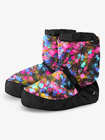 Girls Graphic Print Dance Warm-Up Boots