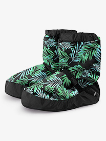 Womens Graphic Print Dance Warm-Up Boots