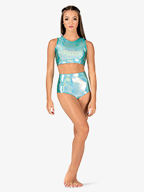 Womens Iridescent Performance Briefs