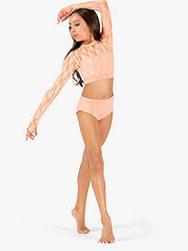 Girls Jazz Cut Dance Briefs